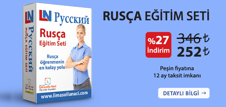Rusça Eğitim Seti