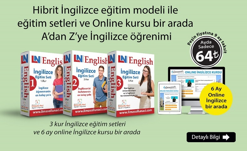 opposite Ne Demek Türkçe Anlamı | İngilizce Türkçe Sözlük | Limasollu Naci  Yayınları