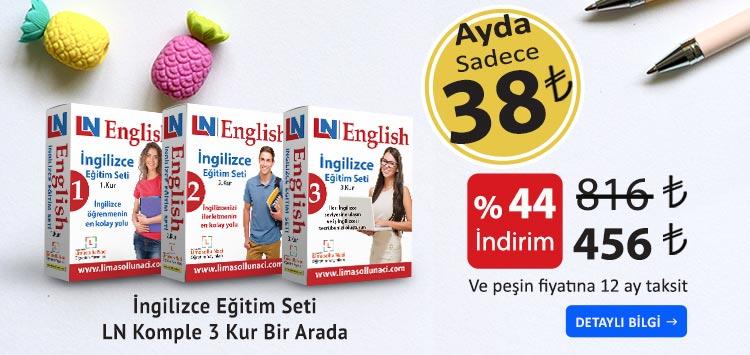 İngilizce bilgiler