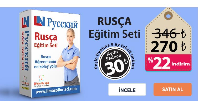 Rusça Eğitim Seti sayfa içi
