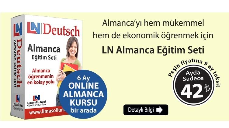 LN Almanca Eğitim Seti + 6 Ay Online Almanca Kursu