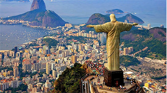 2. The Statue of Christ, Brazil